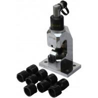 Гидро ручной пресс для наконечников 16-240, с помпой