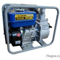 Бензиновая мотопомпа ELEKON POWER PG36